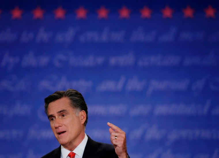Romney's embarrassing debate blunder