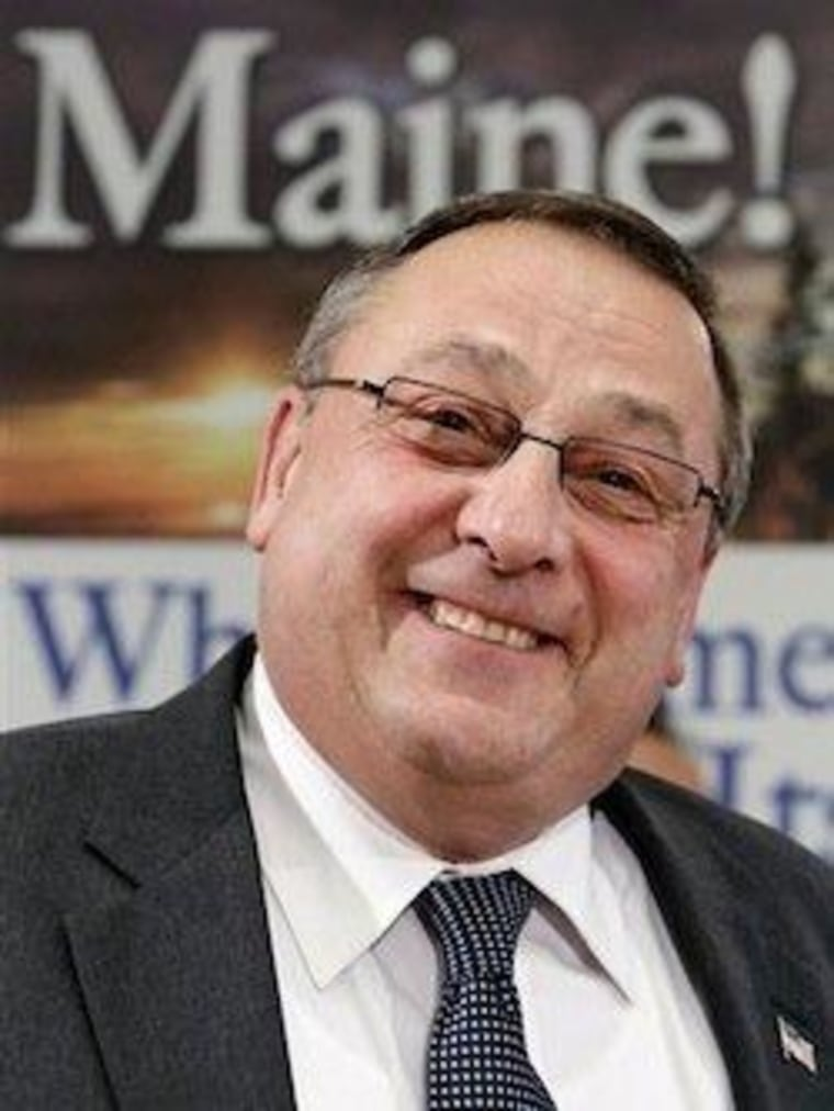 Governor LePage filibusters state of Maine