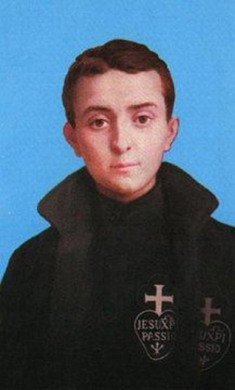 "Gabriel Possenti, the ""patron saint of handgunners""?"
