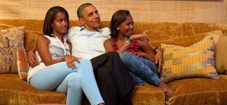 Michelle Obama: 'My daughters are still the heart of my heart and the center of my world'