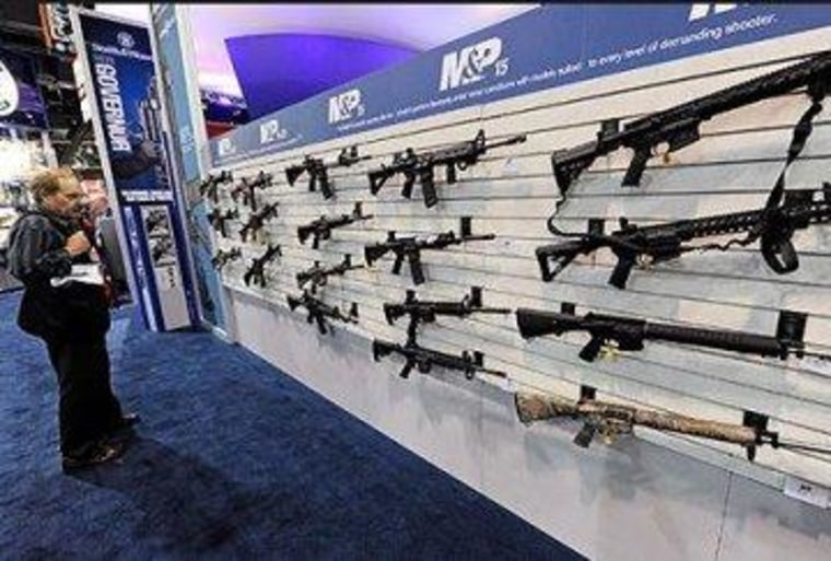 The stage is set for the fight over gun violence