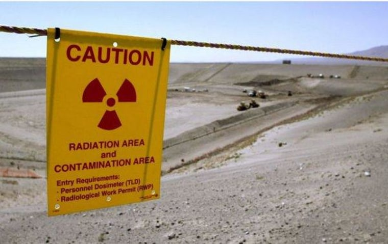 It's only the nation's biggest nuclear-contamination site