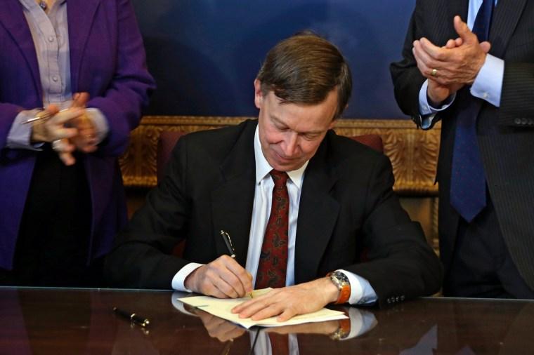 Colorado governor signs gun reform
