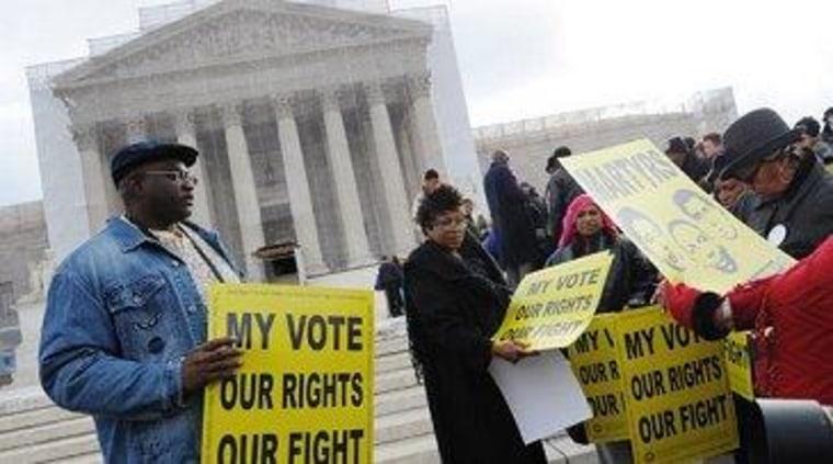 High court weighs Arizona voter-registration law