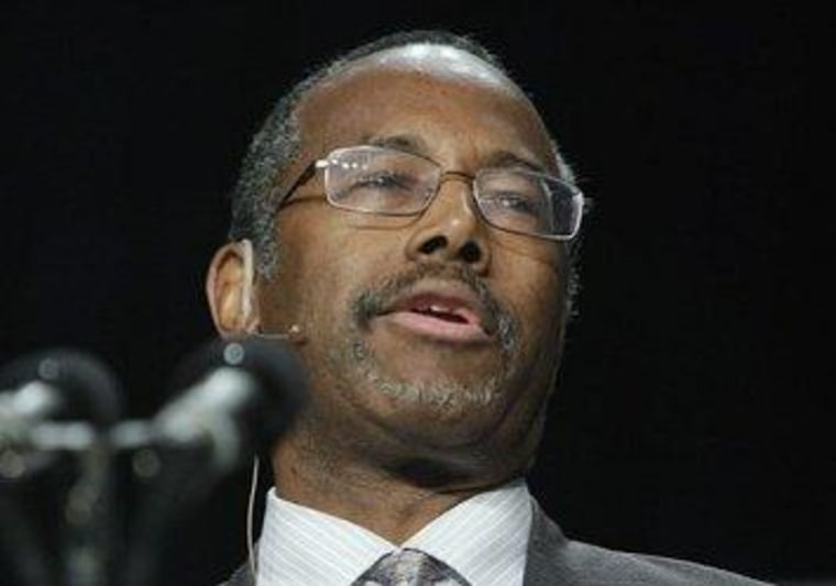 Ben Carson revels in GOP spotlight