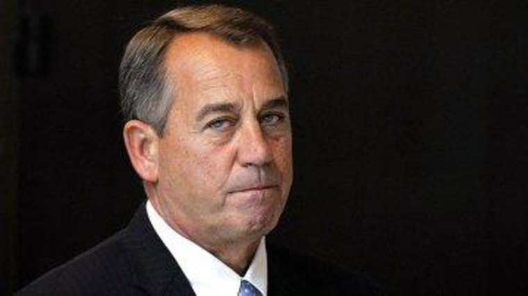 Boehner still waiting for others to 'lead'