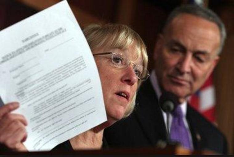 Senate Budget Committee Chairwoman Patty Murray (D-Wash.)
