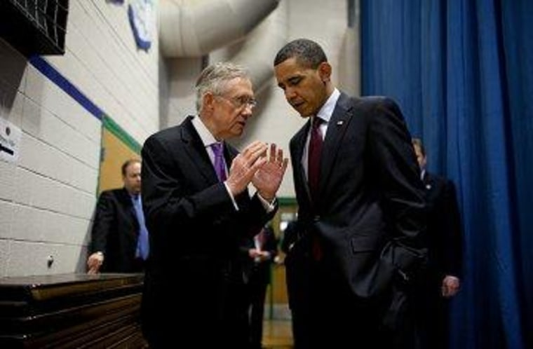 Obama presses Senate Dems on filibusters