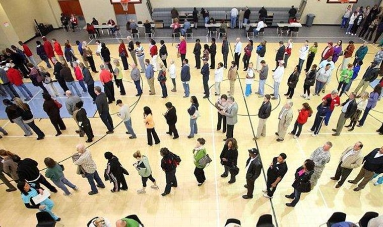 Obama follows through on voting commission
