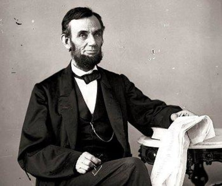 Boehner has no use for Lincoln in context