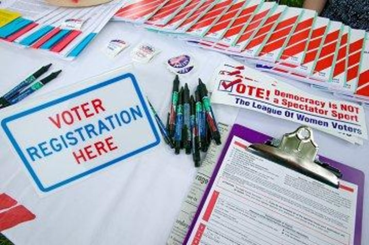 At the intersection of 'Obamacare' and 'motor voter'