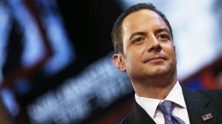 Priebus and his 'Old Testament heretics'