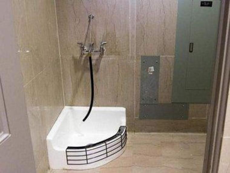 'Sometimes a mop sink is just a mop sink'
