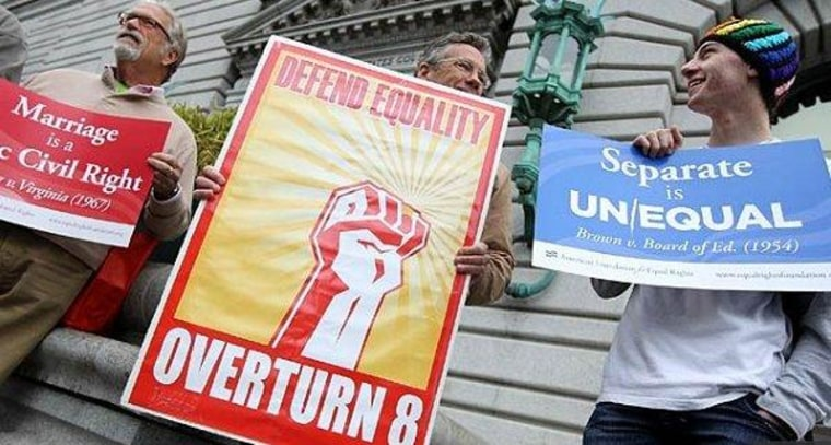 Marriage equality gets its day in court