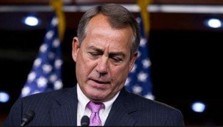 Boehner's instincts fail him again