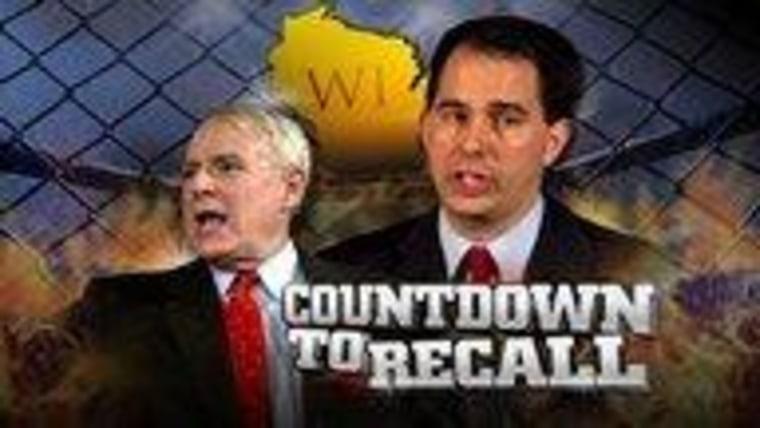 Countdown to recall: Clinton rallies Wisconsin Democrats