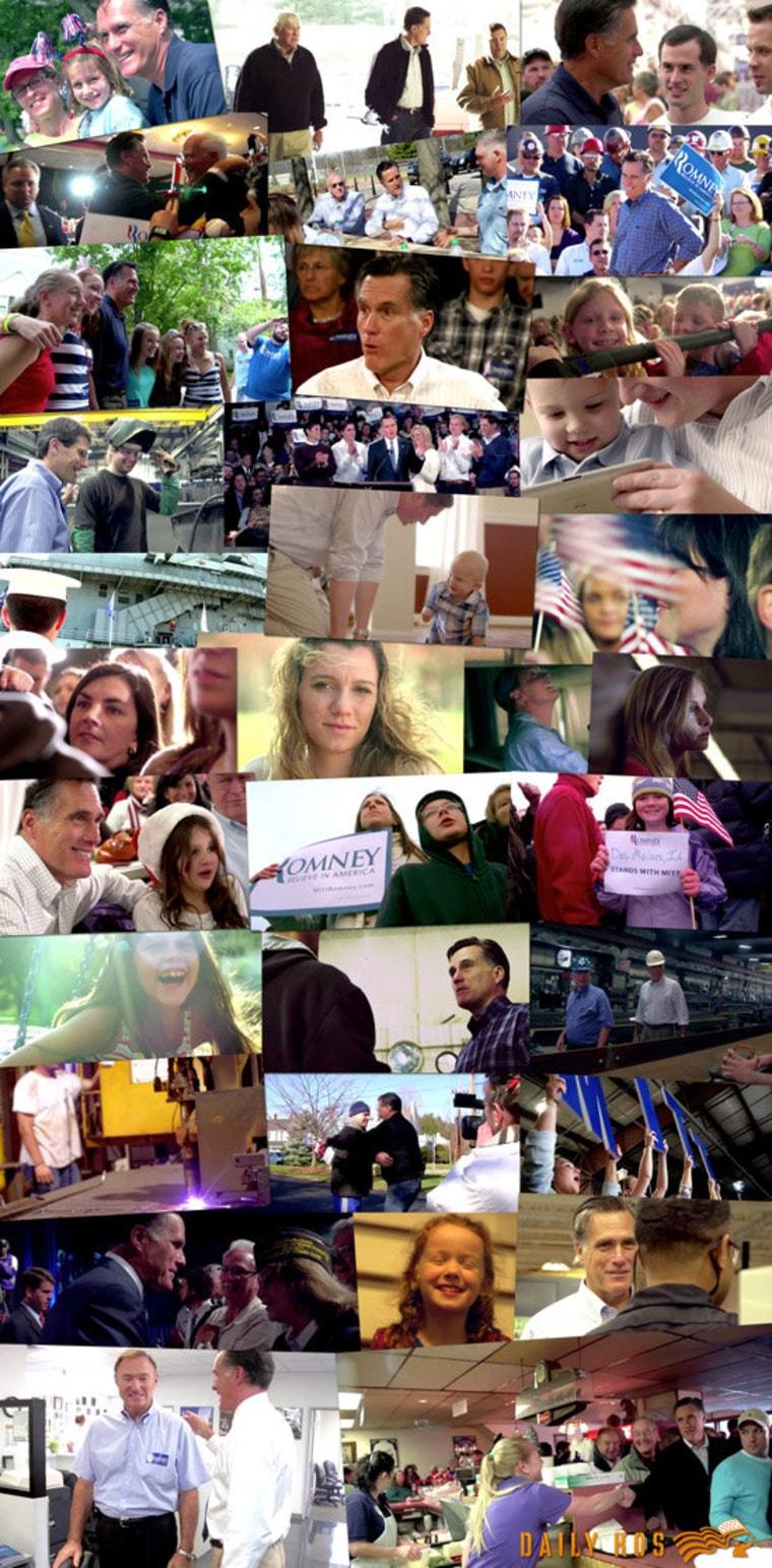 Mitt Romney's monochromatic 'Promise of America'