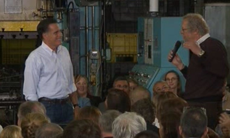 And So It Begins: Romney Town Hall Self-Implodes
