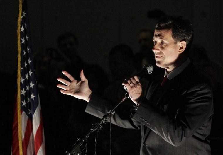 Rick Santorum speaking in Tacoma, Washington