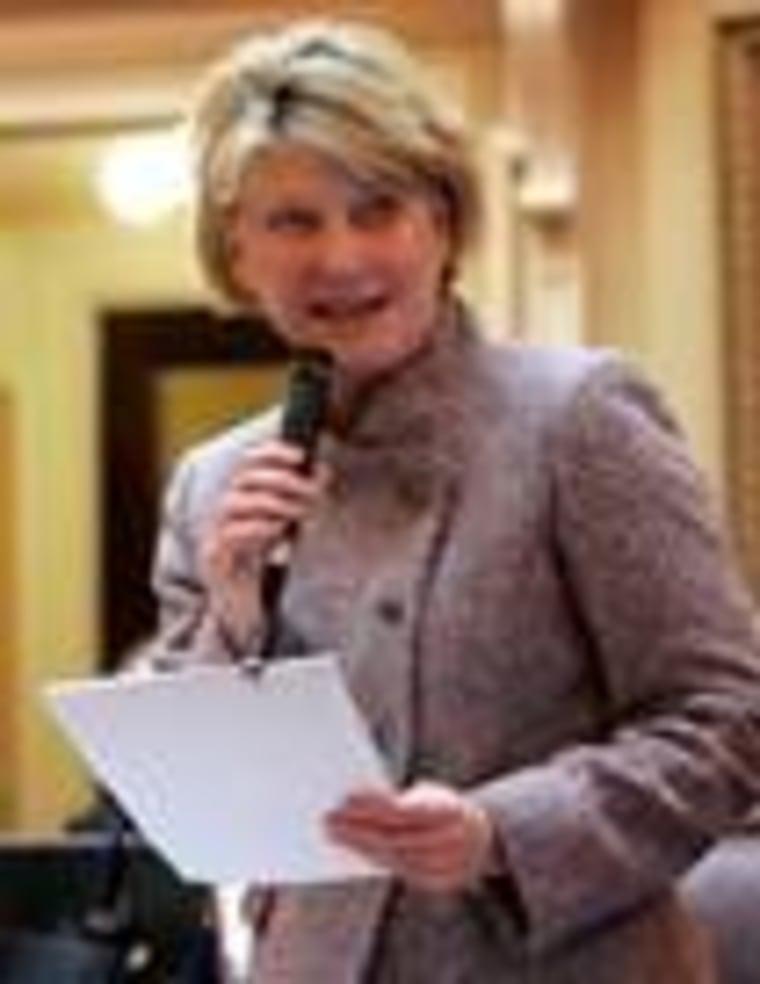 State Sen. Janet Howell (D-VA)