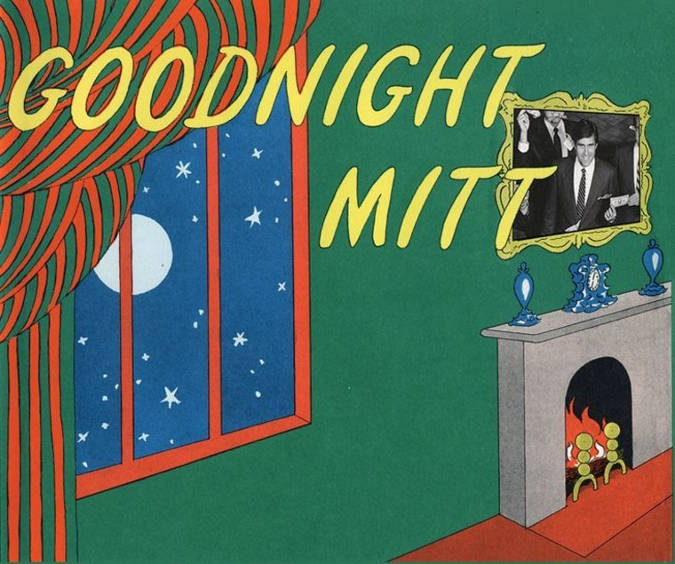 Ed's bedtime story for Tim Pawlenty: 'Goodnight Mitt'