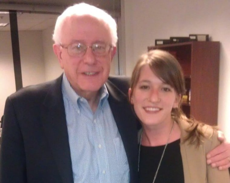 Behind the scenes with Sen. Bernie Sanders