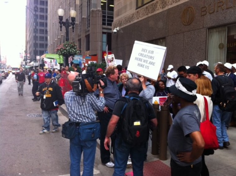 """Ed and \""""Take Back Chicago\"""" March"""