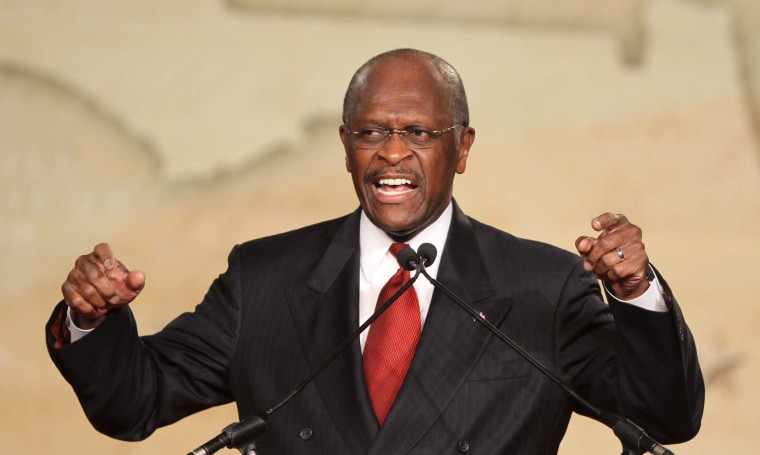 POLL: ARE HERMAN CAIN'S COMMENTS OUT OF LINE?