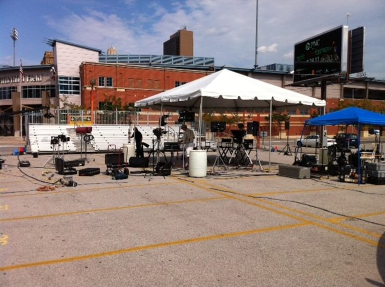 The Stage Is Being Set in Toledo!