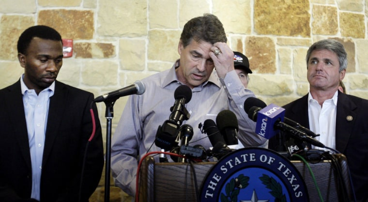 Rick Perry Playing With Fire (Update)