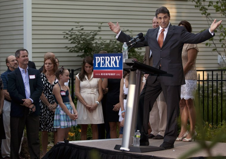 POLL: WILL RICK PERRY BE THE GOP PRESIDENTIAL NOMINEE IN 2012?