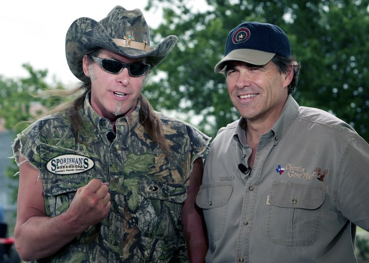 Rick Perry & Ted Nugent - Best Friends Forever!