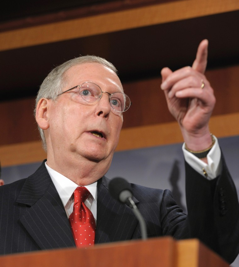 POLL: SHOULD PRESIDENT OBAMA ACCEPT MITCH MCCONNELL'S CAVE-IN?
