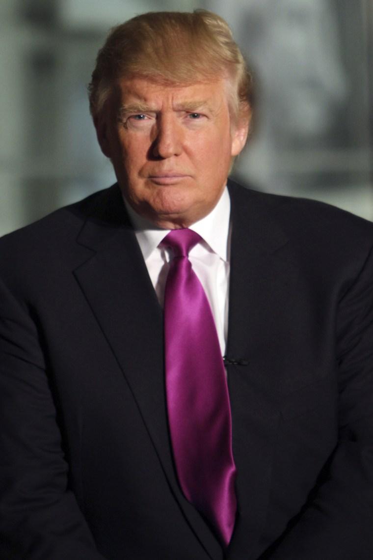 Ed endorses Trump in 2012!