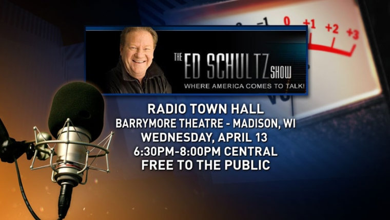 Tonight: Ed's Town Hall in Madison