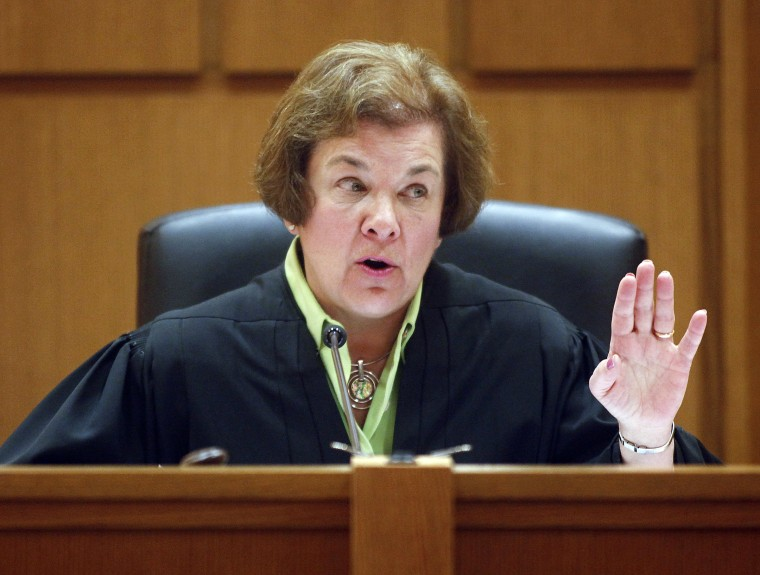 Dane County Circuit Judge Maryann Sumi