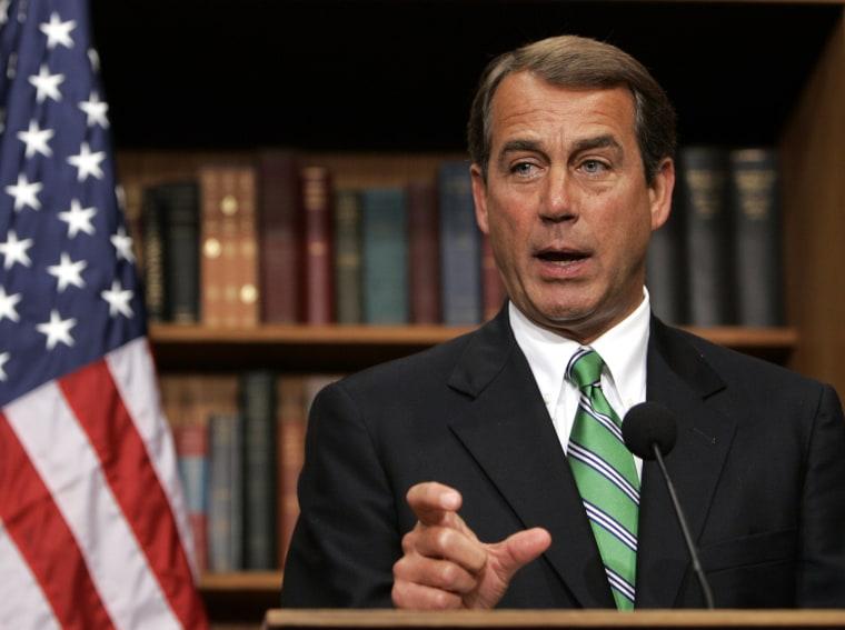 """John \""""Where are the jobs?\"""" Boehner"""