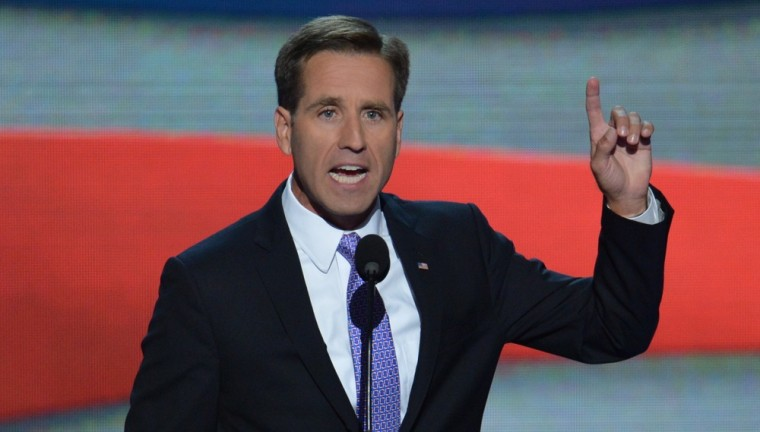 Beau Biden defends dad: It's 'outrageous' Ryan thinks Dems don't take security seriously