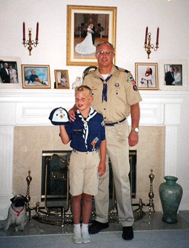 Ryan Andresen with his father Eric Andresen, 52. Ryan Andresen had completed the requirements to earn his Eagle Scout award, but his his father, Eric, said the Scoutmaster told him his son wouldn't get it because he recently came out as gay. The Boy...