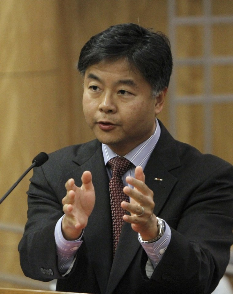 California state Sen. Ted Lieu, D-Torrance, sponsored the bill to ban a controversial form of psychotherapy aimed at making gay youth straight.