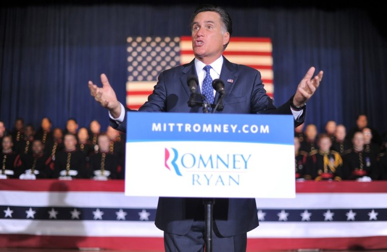 Poll: Romney less favorable than George W. Bush
