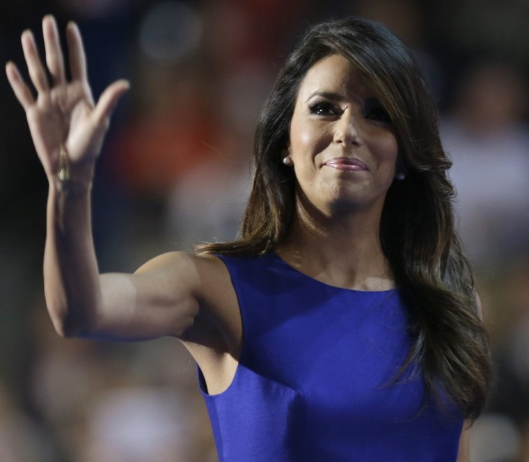 Eva Longoria: Romney's on the 'wrong side' of Latino issues