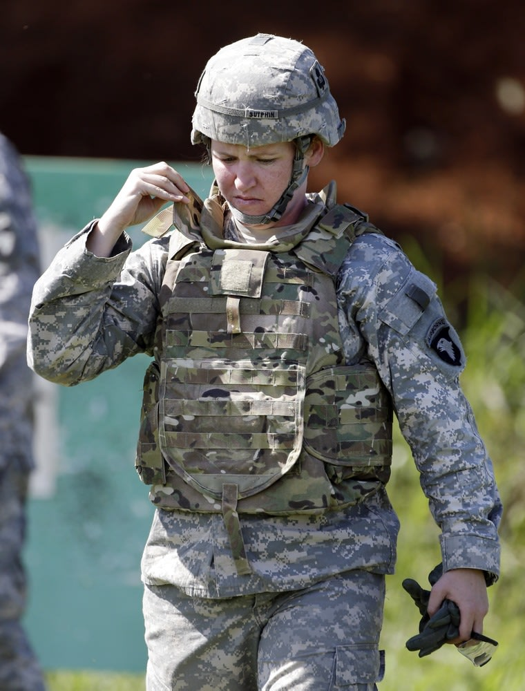 Women Soldiers To Be Fitted With Test Armor Tailored To Fit Their Bodies See more ideas about female soldier, military women, warrior woman. fitted with test armor tailored