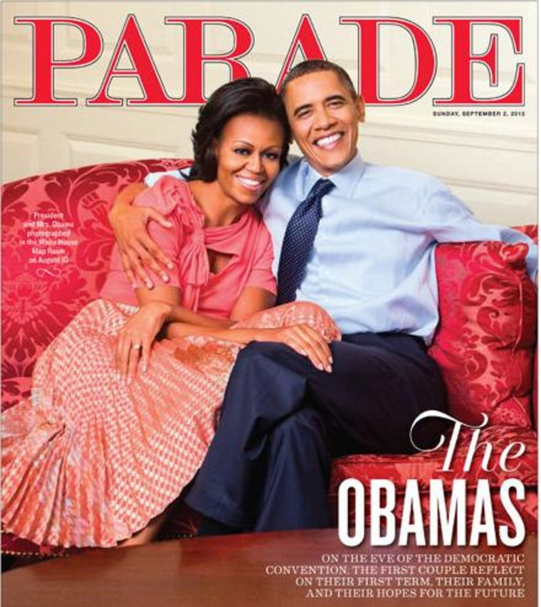Obamas, Biden hit magazine covers ahead of party convention