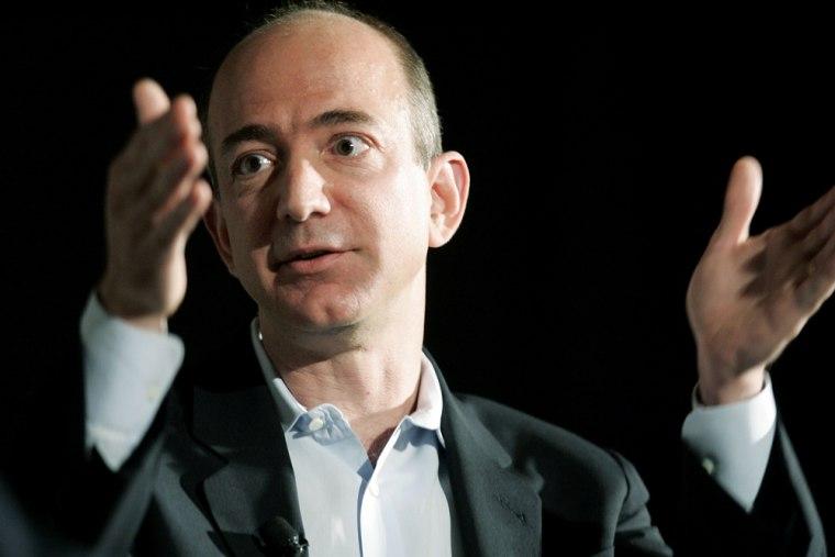 Amazon.com Inc. founder Jeff Bezos