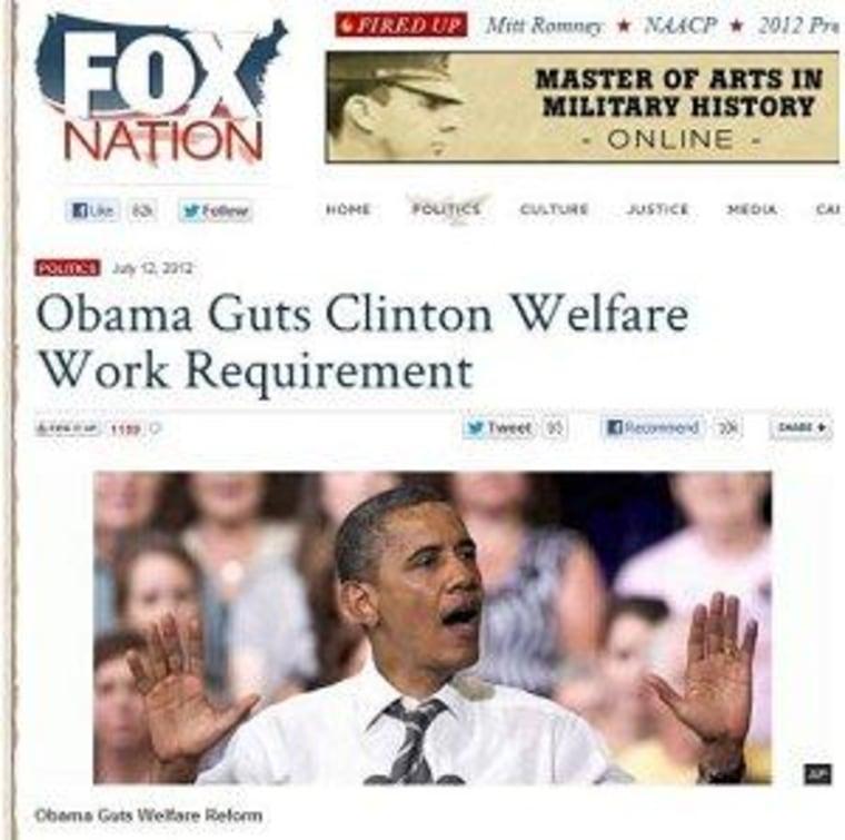 The strange, new fight over welfare reform