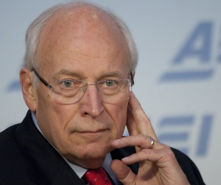 Former Vice President Dick Cheney, file photo