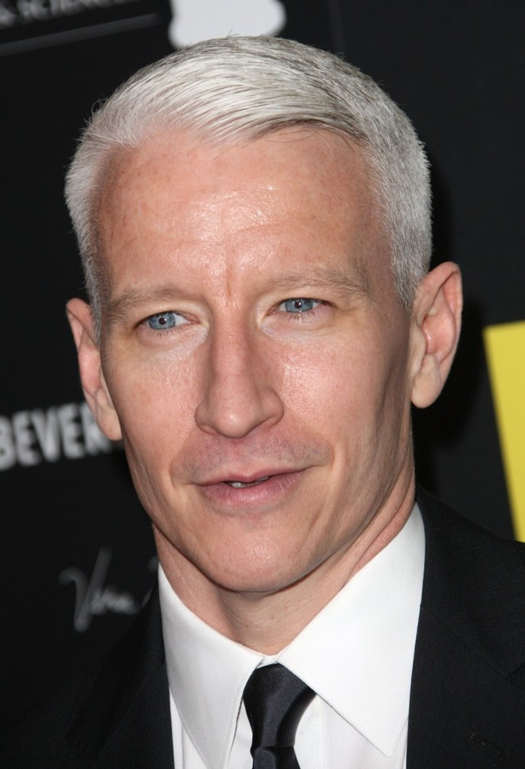 Anderson Cooper attends the 39th Annual Daytime Entertainment Emmy Awards in  California.