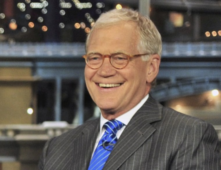 Letterman: Obama displayed 'great courage, great intelligence' on killing of bin Laden