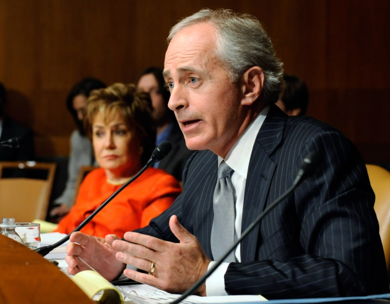 Sen. Corker's call for hearing on JPMorgan trading loss doesn't jive with everyone on the right